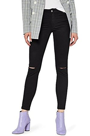 FIND Women's Distressed Low Rise Skinny Jeans