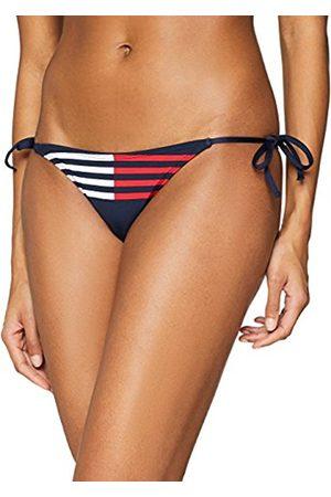 Tommy Hilfiger Women's String Side Tie Bikini Bottoms