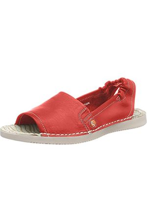 softinos Women's TEE430SOF Washed Sling Back Sandals