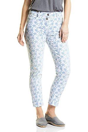 Cecil Women's 371435 Scarlett Floral Print Straight Jeans
