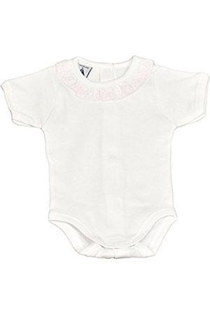 BABIDU Baby Girls' Body M/Corta Cuello Batista Indoor-Wear Set