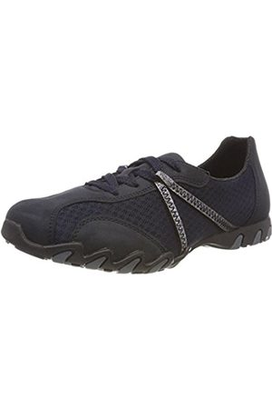 Womens N4001 Low-Top Sneakers, Pazifik/Ozean/Royal/Stahl, 4 UK Rieker