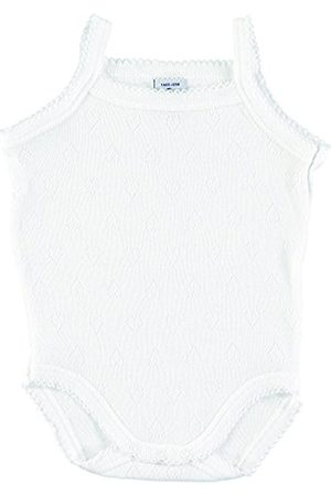 BABIDU Baby Girls' Body Tirante Fino Calado Corazones Christening Clothes