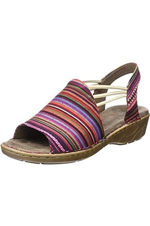 Jenny Women's Korsika Heels Sandals Red Size: 6.5 UK