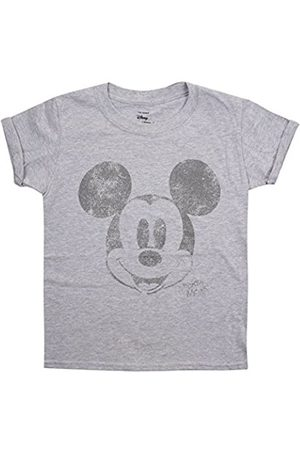 Disney Girl's Metallic Face T-Shirt