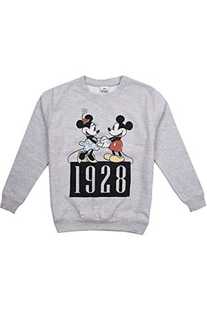 Disney Girl's Mickey And Minnie Dance Sweatshirt