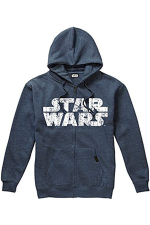STAR WARS Men's Rebel Logo & Text Hoodie