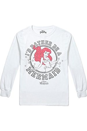 Disney Girl's The Little Meraid Rather Be Long Sleeve Top