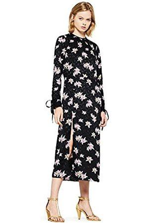 FIND Women's Floral High Split Midi Dress