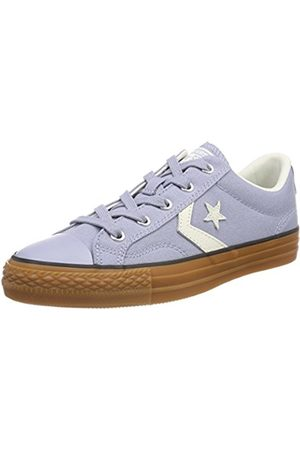 Converse Unisex Adults' Star Player Ox Glacier /Egret/Honey Trainers