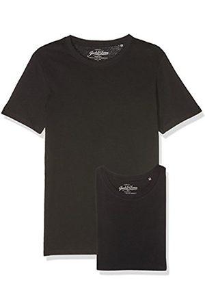 Jack & Jones Men's Jjeplain Tee Ss O-Neck 2 Noos T-Shirt, ( Detail: Slim Fit- / )