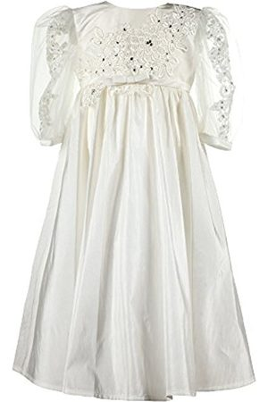 Heritage Christening and Special Occassion wear Baby Girls' Annabelle Christening Gown, Off- (Antique )
