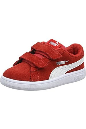 6112bc44f90261 Puma Unisex Kids Smash v2 SD V Inf Low-Top Sneakers