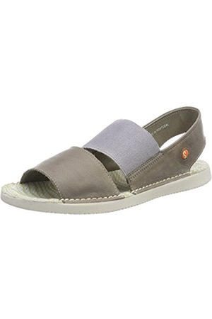 softinos Women's TAI383SOF Washed Sling Back Sandals