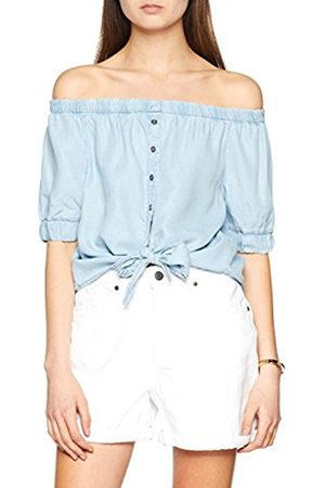 Noisy May Women's Nmendi S/s Off Shoulder Tie Shirt Noos Blouse