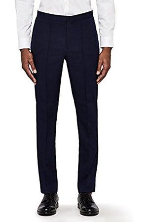 MERAKI Men's Smart Trousers with Pintuck Seam Detail