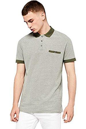 FIND Men's Textured Smart Polo Shirt