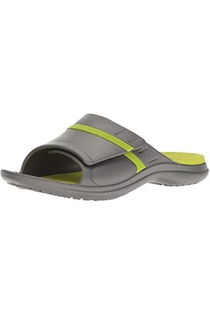 Crocs Modi Sport, Unisex Adult's Slide Sandals, Graphite/Volt