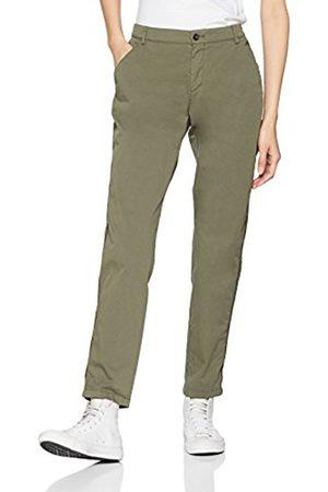 HUGO BOSS BOSS Casual Women's Sochila-d Not Applicable Slim Trouser, (Khaki)
