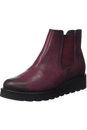 Apple of Eden Women's nanda Chelsea Boots Red Size: 6 UK