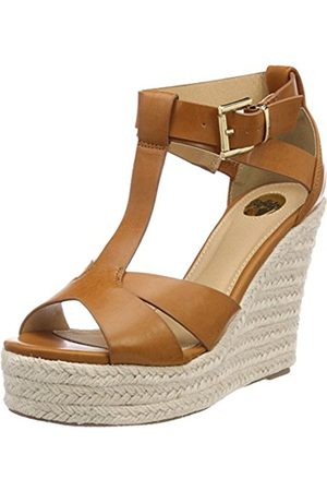 Womens 181487 Ankle Strap Sandals, Beige (Champagne 01), 8 UK Buffalo