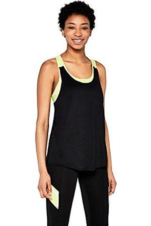 AURIQUE Gym Tops for Women ( /Lime) Large