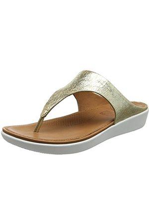 FitFlop Women's Banda II Thong Metallic Open Toe Sandals