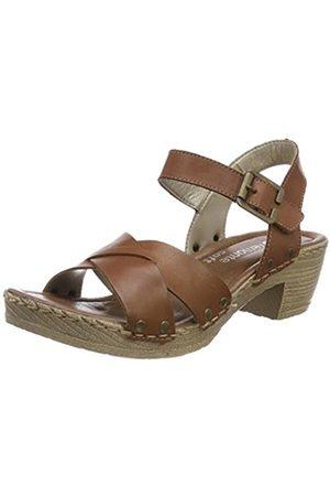 Remonte Women's D6955 Ankle Strap Sandals