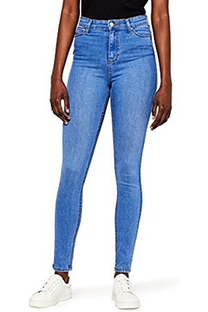 MERAKI Women's Super Stretch High Rise Skinny Jeans