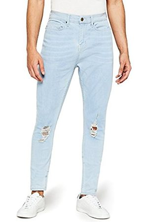 FIND Men Skinny - Men's Super Skinny Distressed Jeans