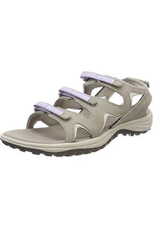 Columbia Women Sandals - Women's Sandals, SANTIAM WRAP, Beige (Kettle/Soft Violet)