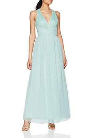 Little Mistress Women's Spearmint Lace Maxi Party Dress