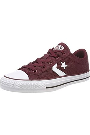 Converse Unisex Adults' Star Player OX Dark Burgundy/ Trainers