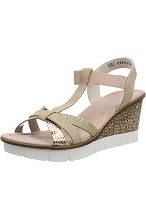 Rieker Women's 65590 Flatform Sandals