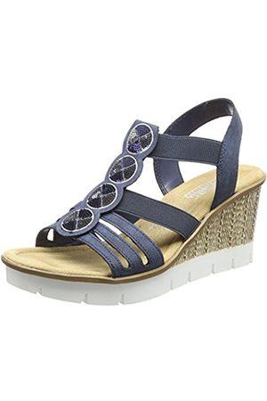 Rieker Women's 65515 Platform Sandals
