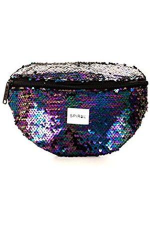 Spiral Midnight Sequins Bum Bag Sport Waist Pack, 24 cm