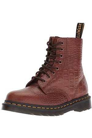 Dr. Martens Women's Pascal Croc Ankle Boots, (Dark 201)