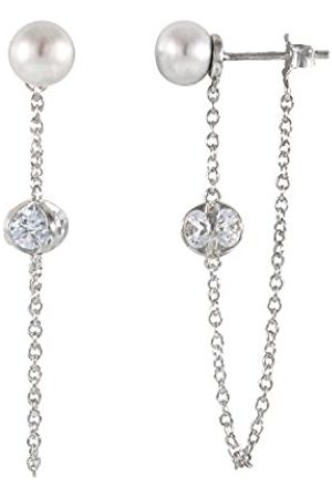 Bella Women 925 Sterling Silver Dangle and Drop Earrings ESR-345