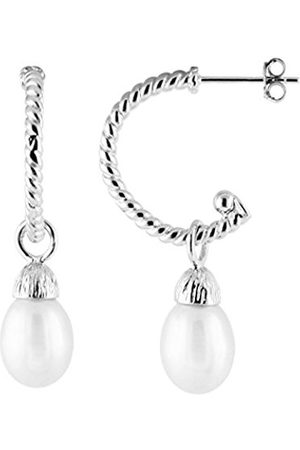 Bella Women 925 Sterling Silver Dangle and Drop Earrings ESR-85