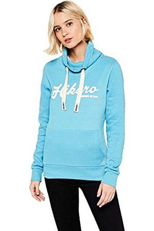 HIKARO Women's Retro Logo Funnel Neck Sweatshirt