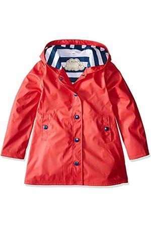 Hatley Girls Splash Rain Jacket, ( /Navy)