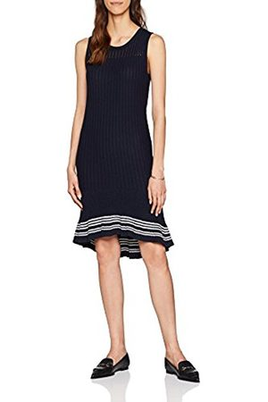 Tommy Hilfiger Women's Valeska C-Nk Ruffle Hem Dress