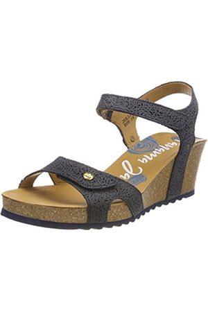 Panama Jack Women's Julia Roses Open Toe Sandals
