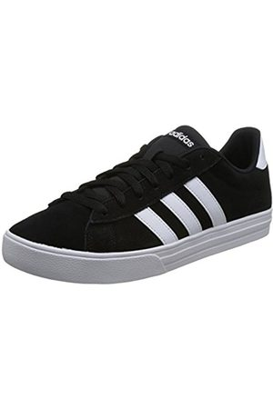 adidas Men's Daily 2.0 Fitness Shoes, (Negbas/Ftwbla/Ftwbla 000)