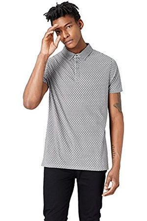 FIND Men's Graphic Print Polo Shirt