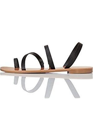 FIND Women's Multi-Strap Flat Sandal Mules