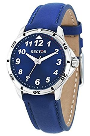 Sector Mens Analogue Quartz Watch with Leather Strap R3251596002