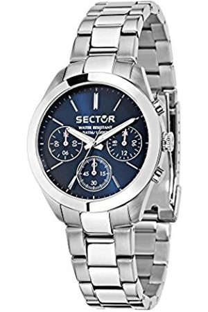 Sector No Limits Women's Chronograph Quartz Watch with Stainless Steel Strap R3253588501