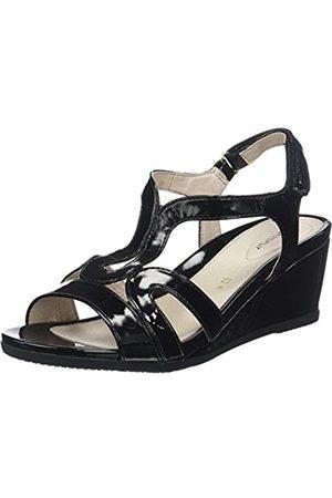 ac085b9daa Stonefly Women s Sweet III 8 Patent Ankle Strap Heels