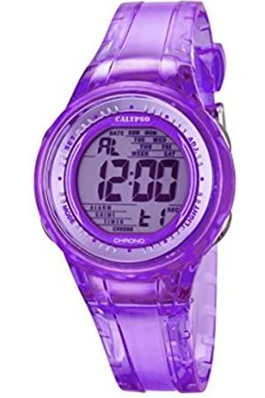 Calypso Women's Digital Watch with Dial Digital Display and Plastic Strap K5688/3